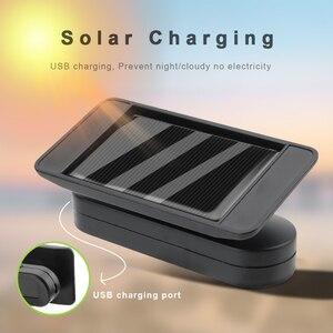 Image 2 - FORAUTO Solar Power TPMS Tyre Pressure Sensor Temperature Warning Fuel Save Car Tire Pressure Monitor System