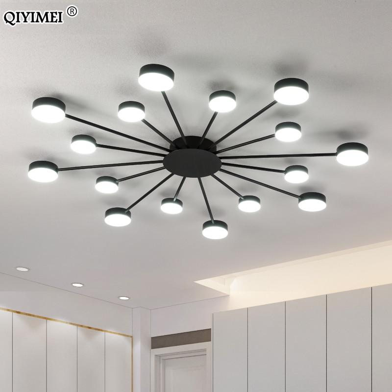 Modern LED Chandelier Lights For Living Room Bedroom Kitchern Creative Home Indoor Lighting Fixtures Free Shipping AC 90-260V