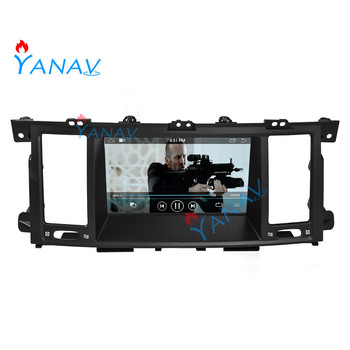 Android car video touch screen player for-Infiniti QX80 2013-2017 Tesla Style car stereo multimedia GPS navigation radio player image