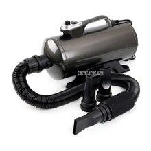 DHD-2400T сушилка для волос для больших собак, золотистый ретривер, воздуходувка для кошек, двойной двигатель, низкий уровень шума, 2200 Вт, 220 В