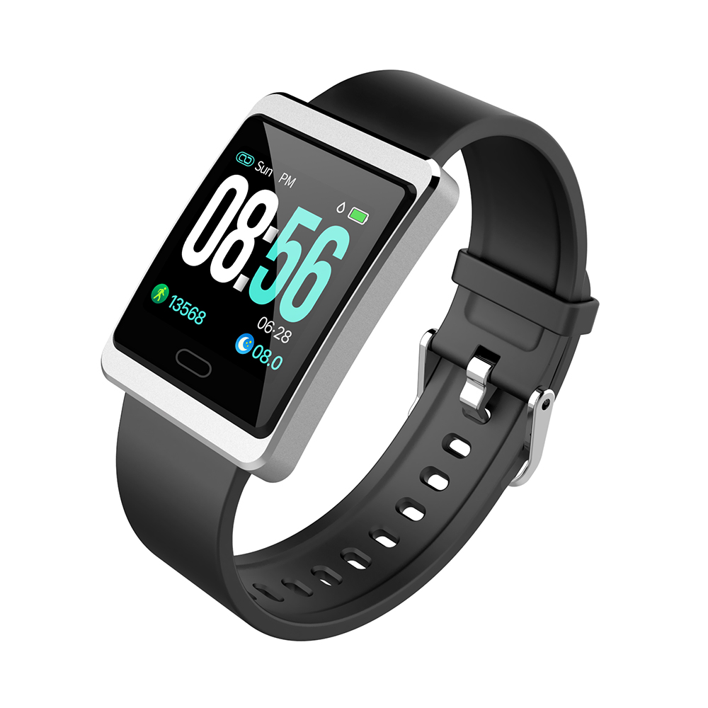 Y13 Smart Band watch Pressure Heart Rate Monitor Blood Oxygen Information Reminder Fitness Activity Tracker Pedometer Wristband image