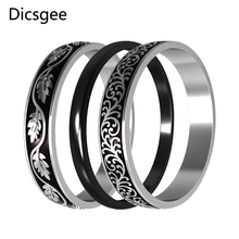 Cremo Silver Rings Set Women Interchangeable Filled Rings Combination Stainless Steel Band Ring Bague Acier friends f12 stainless steel combination lock silver