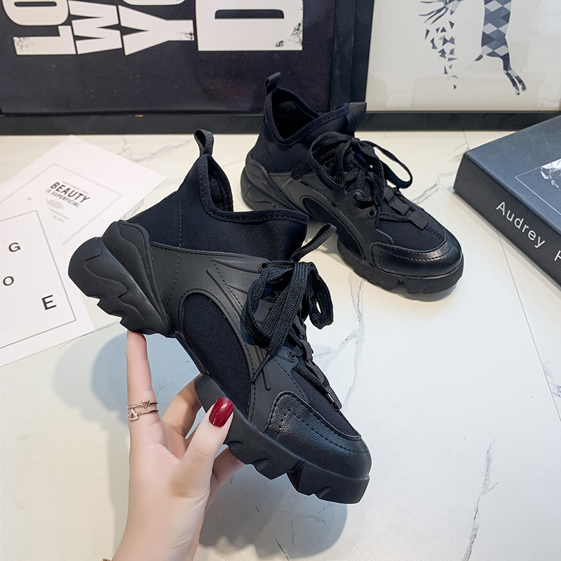 Fashion Shoes For Women Lace-up Comfortable Shoes Woman Vulcanized Shoes Zapatillas Mujer 2020 Women Sneakers