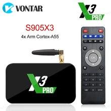 2020 Ugoos X3 PRO TV Box Android 9,0 4GB RAM 32GB X3 Plus 64GB DDR4 Amlogic S905X3 wiFi 1000M 4K X3 Cube 2GB 16GB Set Top TVBox