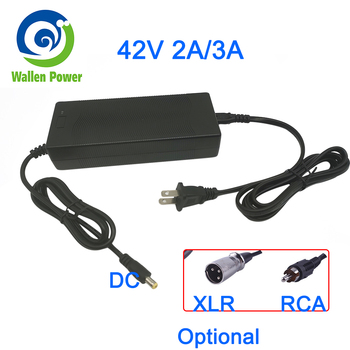 Output 42V 2A/3A charger electric scooter power chargering 36Volt E-scooter Ebike charger scooter 36V Battery EU UK US Charger image
