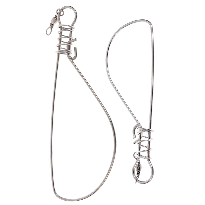 1Pc Fishing Stringer Fishing Tackle For Accessories High Quality Fishing Lock Buckle Stainless Steel Live Fish Lock Belt