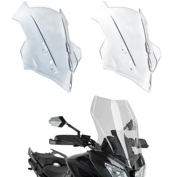 Motorcycle Double Bubble Windscreen Windshield Wind Deflectors For Yamaha MT-09 MT09 FJ09 Tracer 900 GT  2018 2019