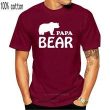 T-shirt humoristique pour homme, cadeau d'anniversaire, Papa Bear, taille S XXL