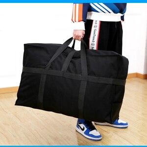 Image 5 - Büyük kapasiteli bagaj çantası 158 hava nakliye paketi yurtdışı yurtdışı eğitim taşıma çantası Oxford kumaş su geçirmez katlanır depolama