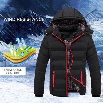 2020 Winter Coat New Fashion Autumn Mens Detachable Hooded Cotton Padded Warmful Hot Sale Clothing