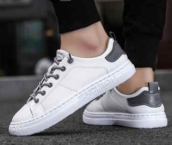 tenis masculino Men Sports shoes 2020 fashion board shoes men trend breathable white sneakers basket zapatillas blancas hombre