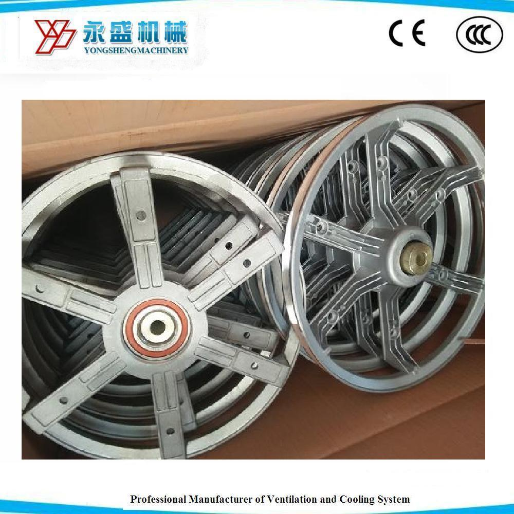 Heavy Hammer Exhaust Fan Spare Parts of Big Motor Aluminum Pulley
