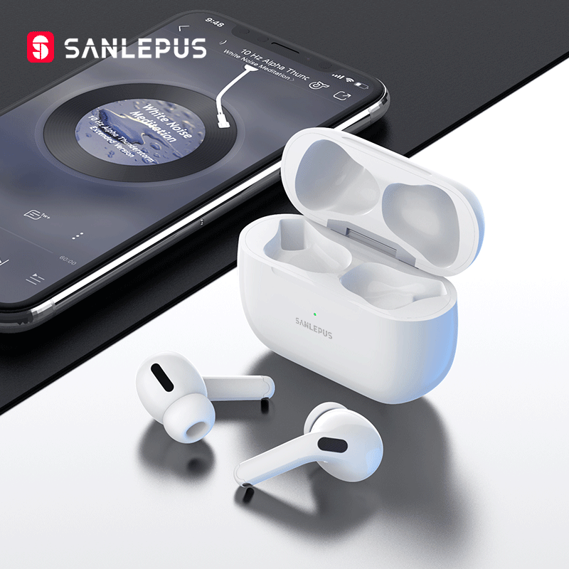 SANLEPUS наушники Pro Новые беспроводные наушники TWS In-Ear Bluetooth наушники 9D стерео гарнитура для Android iPhone Xiaomi Huawei