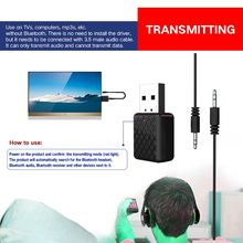 Dongle Bluetooth-Receiver Stereo-Adapter Wireless Headphone Audio USB for TV PC Speaker