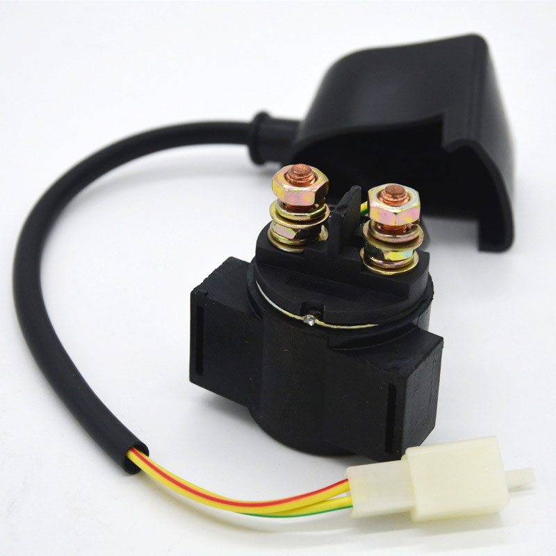 Starter Solenoid Relay For ATV Scooter Go Kart GY6 50cc 70cc 125cc 150cc Chinese