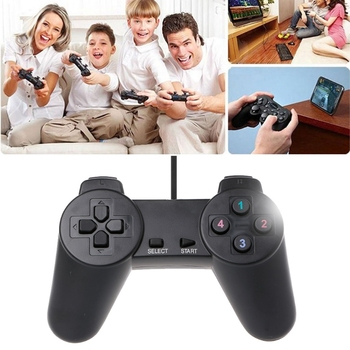 USB 1.1 interface 2.0 Controller Gamepad for PC USB Joystick for PC Game Wired Computer Control for Windows Laptop Plug and Play 3 pcs wired usb joystick usb pc gamepad gaming controller game joypad for pc computer laptop gift free shipping