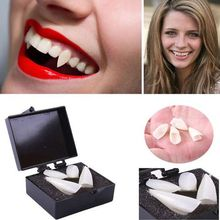 2 Pairs Halloween Vampire Werewolf Ghost Teeth Dentures Dress Up Props Devil Fangs COS Party Favors Holiday DIY Decors Horror iwish halloween wind up green ghost goblin zombies jump vampire winding walking frankenstein jumping kids toys all saints day