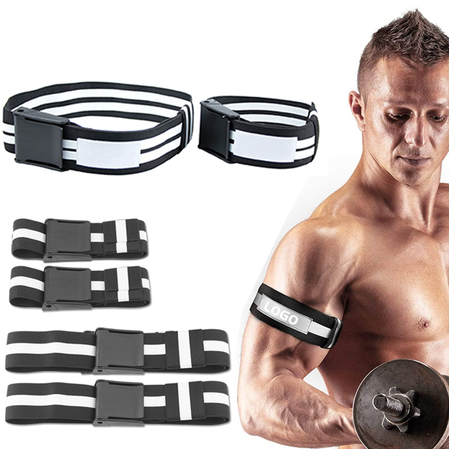 BFR Fitness Occlusion Bands Weight Bodybuilding Blood Flow Restriction Bands Arm Leg Wraps Fast Muscle Growth Gym Equipment 1