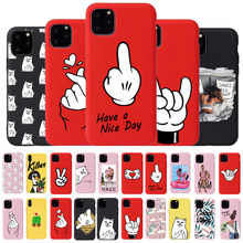 Cool Cute Dog Phone Case For iPhone 6 7 8 Plus X XR XS 11Pro Max Cases For iPhone 11 Pro Soft Silicon Cover Pretty Design(China)