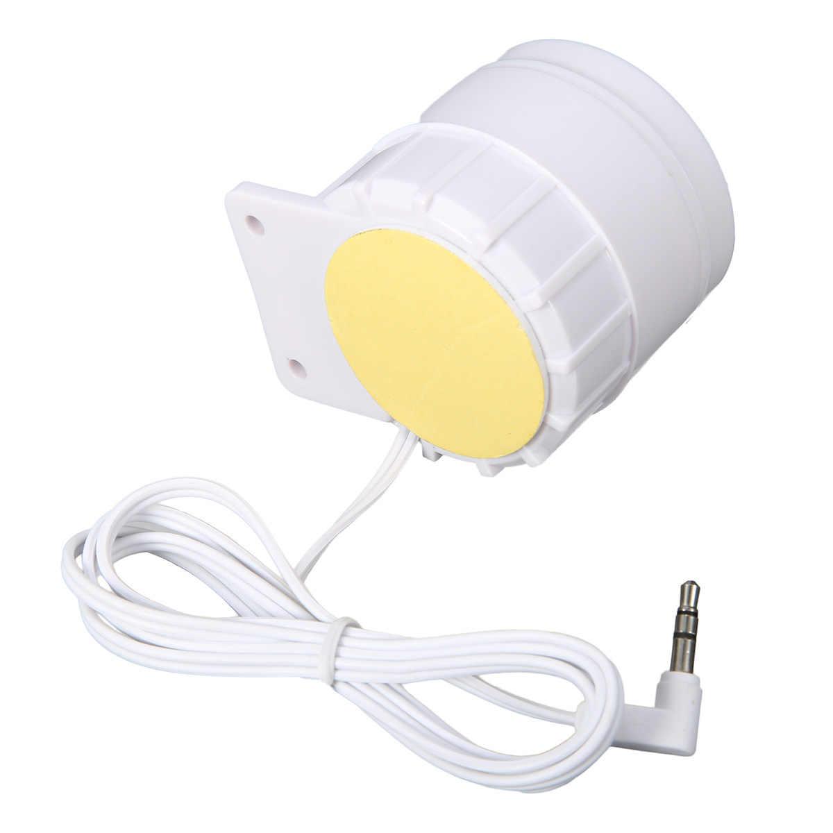 Digoo-batterie externe sécurité 433MHz | Kit de sirène d'alarme filaire 3.5mm 15W 12DC pour maison intelligente, système d'alarme de sécurité