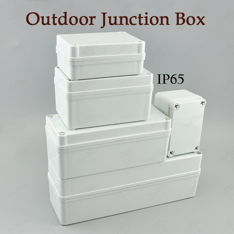 ABS Waterproof Junction Boxes Connection Outdoor Indoor Distribution Monitoring Box Electric Enclosure Case IP65