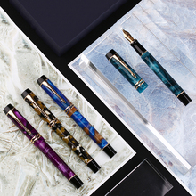New Moonman M600S Celluloid Fountain Pen F/M/Bent Nib with Converter Excellent Fashion Office Writing Gift Ink for Business
