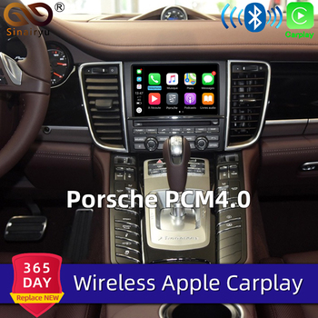 Sinairyu Wifi Wireless Carplay For Porsche PCM4.0 Android Auto/Mirroring Apple Car Play For 2007-2011 911 Panamera Macan