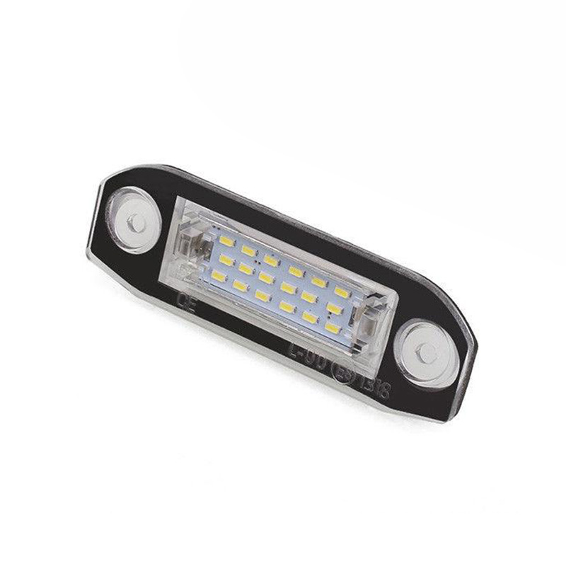 Accessories New 18LED License Plate Number Light Lamp In 7.8*2.7*1.7cm For Volvo S80/XC90/S40/XC60/S60/V70 For Car