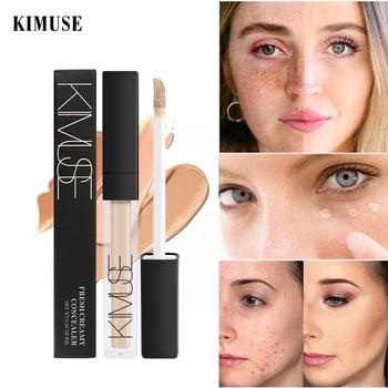 KIMUSE Face Concealer Cream Perfect Cover Pores Dark Circles Brighten Liquid Concealer Base Primer Base Maquiagem Corretivo