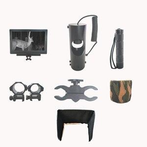 Image 3 - Najlepsza snajperska luneta strzelby, widzenie optyczne, podczerwień, latarka z LCD, nocny podgląd sytuacji