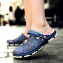 2020 nouveau couple sandales trou chaussures unisexe pantoufles trou jardin chaussures Crocse Adulto Cholas Hombre sandales