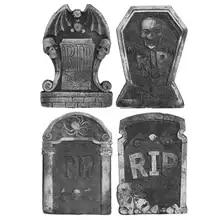 CULER Halloween Schiuma Graveyard Lapidi Lapide Cimitero frequentato casa Decorazioni per Halloween Yard Decoration