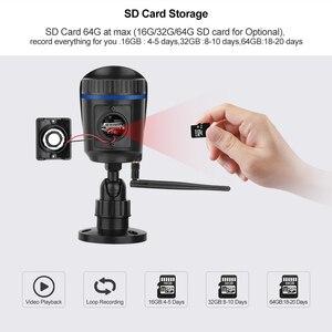 Image 3 - Techage 1080P 2MP Camera Không Dây Tầm Nhìn Ban Đêm Âm Thanh Hai Chiều TF Card Ghi Hình An Ninh Wifi Ngoài Trời camera Quan Sát