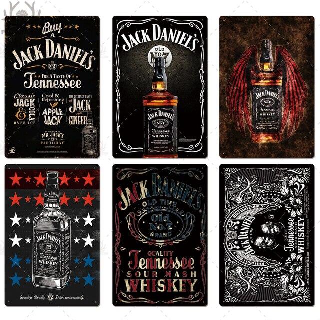 Whiskey Vintage Plates 8