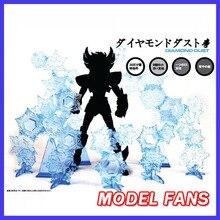 نموذج المشجعين سانت Seiya القماش أسطورة ندفة الثلج المؤثرات الخاصة