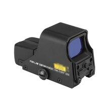 Visor holográfico táctico rojo/Verde punto mirilla 20mm colimador Riflescopes para 551 Airsoft caza arma al aire libre proveedor