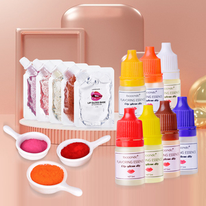 50ML Diy Lipstick Material Lip Gloss Base Oil Lipstick Pigment Powder Lip Base Making Handmade Lipstick Makeup Comestics TSLM1