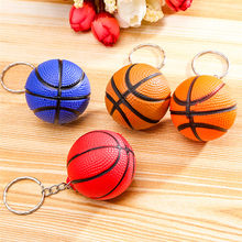 New Fashion Sports Keychain Car Key Chain Key Ring Basketball Golf ball Dice Pendant Keyring For Favorite Sportsman's Gift(China)