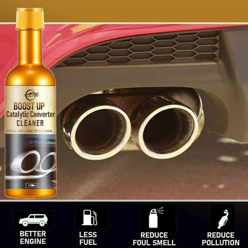 Sur salling! Boost Up véhicule moteur catalyseur convertisseur nettoyant nettoyage en profondeur enlèvement polyvalent dépôt de carbone livraison directe