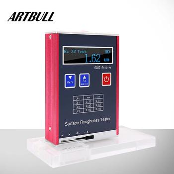 Cyfrowy Tester chropowatości chropowatości powierzchni parametr pomiaru Ra Rz test tanie i dobre opinie ARTBULL CN (pochodzenie)