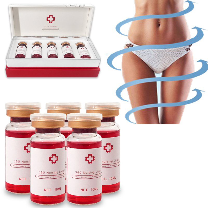 Korean Weight Loss RED Ampoule Solution 10ml Atomizer Hyaluron Pen Hyaluronic Pen Skin Firming Lipolytic Solution Fat Dissolve