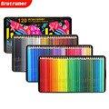Brutfuner Новый 72/120 цвет s маслянистый Цвет Цветные карандаши квадратный трендовый пастельный цвет ed карандаш для рисования эскиз художника сту...