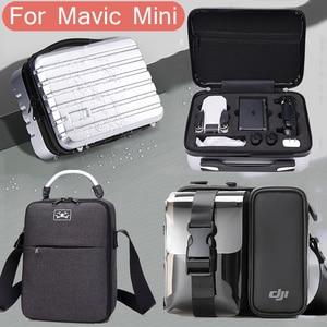 Image 1 - DJI Mavic Mini Portable Storage Bag Travel Case Carring Shoulder Bag For Mavic Mini Drone Handheld Carrying Case Bag Waterproof