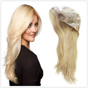 Hstonir Remy-Hair Medical-Wig Lace-Front European Top with Stretch-Net G038 Anti-Slip