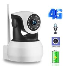 Ip Camera Ingebouwde Batterij Video Surveillance 3G 4G Sim kaart 720P 960P 1080P hd Home Security Draadloze Wifi Camera Infrarood Sd