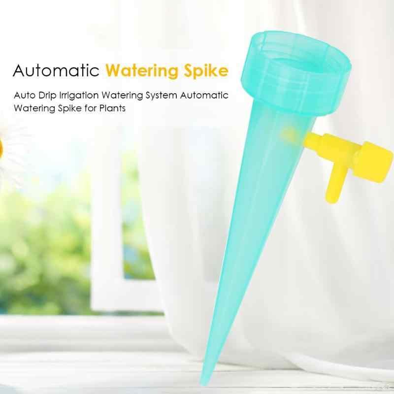 自動給水スパイクシステム屋内植物ボトル点滴灌漑屋内植物園芸植物散水装置