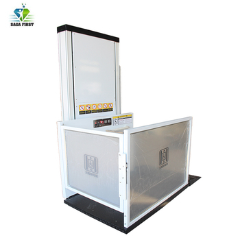 CE hydraulic disabled wheelchair lift Commercial wheelchair lift for house