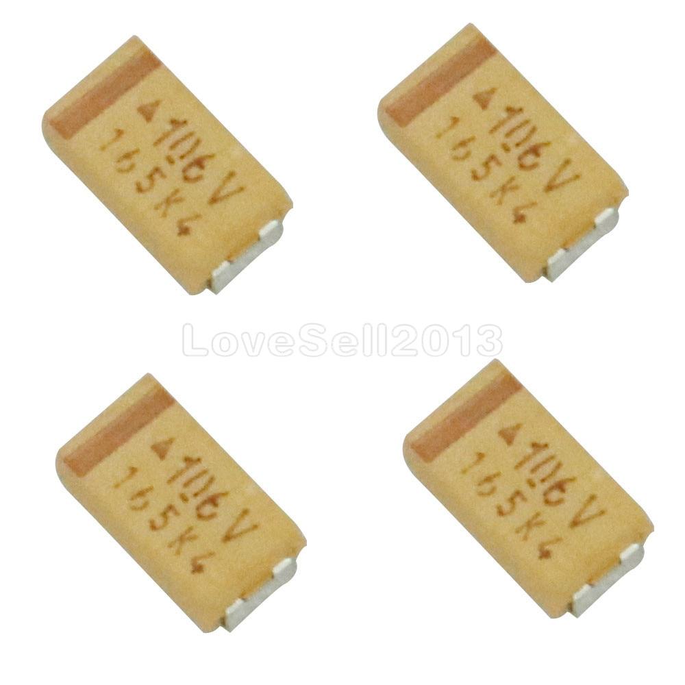 20x Tantalum Capacitor SMD 2,2µf 35v 125 ° C; Size C; b45196e6225k309; 2,2uf