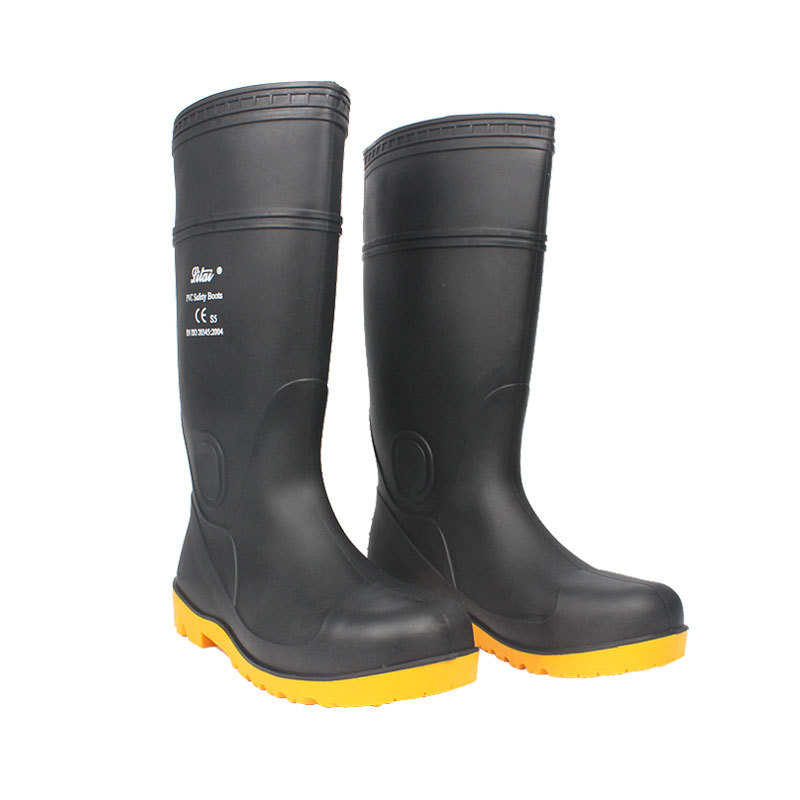 Tianjin We Got Rita Rubber Sole Oil-Resistant Acid And Alkali Resistant Wear-Resistant And Steel Plate Ladle Knee-High Boots Sma