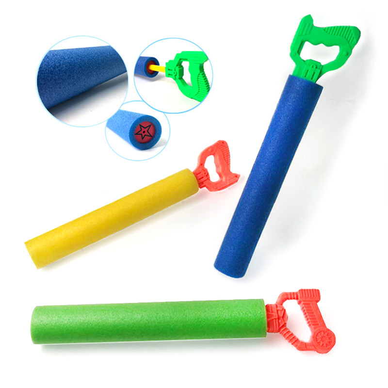 3Pcs/set EVA Summer High Pressure Super Pumping Water Gun Outdoor Foam Shooter Swimming Pool Games Toys For Kids Super Soaker